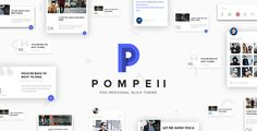 POMPEII  Material Personal Blog PSD Template by DZOAN POMPEII is a unique and creative personal blog PSD templates which was designed with modern and material design. It is perfect choice for your blog if you love Google material design. Pick this to make your website standing out.I