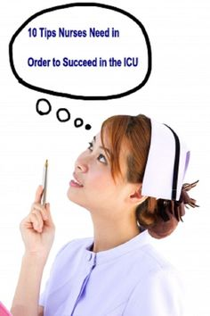 10 Tips Nurses Need in Order to Succeed in the ICU. This was actually super informative and very accurate! Good read for any new nurse! Icu Nursing, Nursing Career, Nursing Tips, Nursing School Motivation, Icu Rn, Critical Care Nursing, Becoming A Nurse, New Nurse, Medical Science