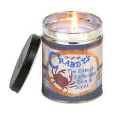 Crabby's Beach Tin Jar Candle