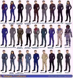 Babylon 5 uniforms