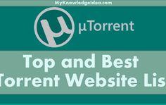 [UPDATE] Top 30 Best Torrent Site List | Best Torrenting Site