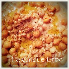 Mes-ciua o Mesciua  -  typical vegetable soup in La Spezia