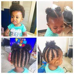 Platinum Blonde Hair Tips Black Baby Girl Hairstyles, Toddler Braided Hairstyles, Toddler Braids, Natural Hairstyles For Kids, Braids For Kids, Natural Hair Styles, Young Girls Hairstyles, Short Hairstyle, Curly Hairstyles