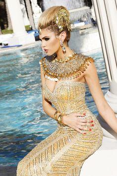 Miss California 2012, Natalie Pack #gold