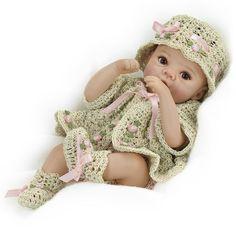 Hannah ~ the Rosebud Baby by Danbury Mint