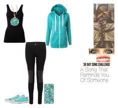 """""""30 Day song challenge: Day 5"""" by ilovecats-886 ❤ liked on Polyvore featuring MDMflow, Converse, Theory, J Brand and Ippolita"""