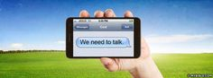 We Need To Talk - Facebook Cover Photo