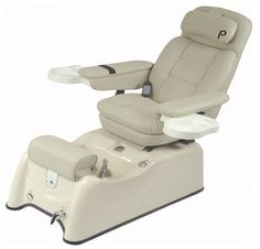 The new Pibbs Florence Spa is Pipeless and features a beige base and chair top. Older Pibbs Spa Parts available. Pedicure Spa, Pedicure Tools, Spa Chair, Massage Chair, Home Hair Salons, Pedicure Chairs For Sale, Barber Supplies, Spa Parts, Outdoor Dining Chair Cushions