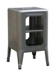 Storage unit - Varnished raw steel - H 50 cm