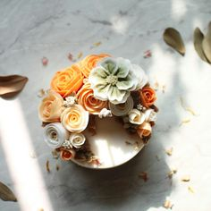 korea soy wax flower candles