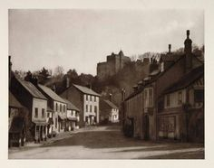 1926 Dunster Castle Village Street Somerset England. Some of my ancestors were from Dunster - if you're researching the surname Thomas, do get in touch! esjones <at> btopenworld.com