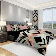 Gold Comforter Set, Modern Comforter Sets, Queen Size Comforter Sets, Bedroom Comforter Sets, King Duvet Set, Duvet Sets, Luxury Comforter Sets, Gold Bedroom, Small Room Bedroom