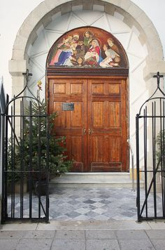 Door of Saint Joseph Church in Rosia, Gibraltar.(southwest Europe) Photo by Papucho Photography, via Flickr