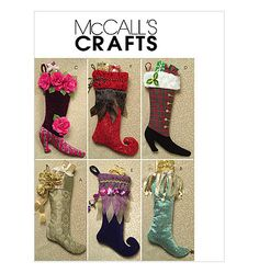 "Embellished 21"" Designer Christmas Stockings"