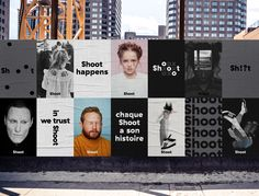 """ShootStudio is a hub of professional visual storytellers, including photographers, videographers, retouchers and producers. Jean-Philippe Dugal of Agency lg2 designed a strong and dynamic brand identity to leverage its position in the production industry and online. 'The brand platform features different lines built around the word """"Shoot"""" that openly express the spirit in which the …"""