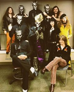 Two of my favorite bands together = Ghost + Purson ♥ ♥