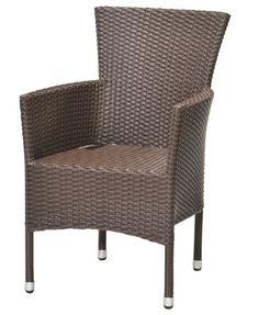 Stoh. stolička BORK oceľ/petan hnedá | JYSK