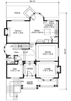 For The Sloping Lot - 23336JD | 2nd Floor Master Suite, Bonus Room, Butler Walk-in Pantry, CAD Available, Den-Office-Library-Study, Drive Under Garage, Northwest, PDF, Sloping Lot | Architectural Designs