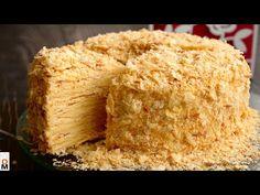 """Торт """"НАПОЛЕОН"""" с очень ВКУСНЫМИ КОРЖАМИ - YouTube Кукурузный Хлеб, Ванильный Торт, Кулинария, Десерты, Youtube, Пустыни, Шоколадные Пироги"""