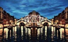 True work of art, oil painting on canvas - abstract dream in the Venice night  https://fliiby.com/file/e2vzprgj1u3/?utm_content=buffer13112&utm_medium=social&utm_source=pinterest.com&utm_campaign=buffer #painting #photo #Italy