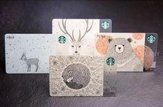KOREA 2016 Starbucks Cards Endangered Animals Woodland Set - SEE DESCRIPTION…