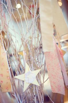 Starry Shabby Chic 1st Birthday Star Party - Kara's Party Ideas - The Place for All Things Party