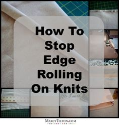 I love working with knits, but even experienced sew-ists tell me they are afraid of knits and often avoid working with them. if you are starting out sewing on knits, here are some tips to understanding and handling these fabrics. Read more at http://marcytilton.com/index.php?cid=760&cp=8