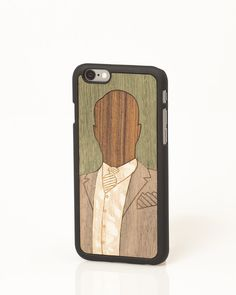 """Enoch """"Valuable Leisures"""" iPhone cover by Wood'd"""