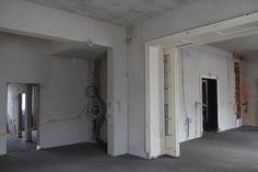 Narożnik 3. jednego z wnętrz rezydencji w stanie surowym