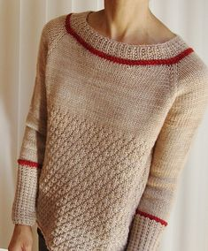 Knitting Patterns Top Ravelry: Enchanted pattern by Ayako Monier is knit top-down in a worsted yarn Sweater Knitting Patterns, Knitting Designs, Knit Patterns, Hand Knitting, Stitch Patterns, Diy Pullover, Top Pattern, Free Pattern, Knitwear