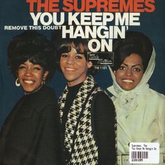 November 19, 1966 - The Supremes were in the middle of a two week run at No.1 on the US singles chart with 'You Keep Me Hangin' On', the group's 8th US No.1. The track was the first single from the Supremes' 1967 album The Supremes Sing Holland–Dozier–Holland.
