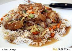 Šanghajské kuře na česneku recept - TopRecepty.cz China Food, Asian Recipes, Ethnic Recipes, Fried Rice, Poultry, Food And Drink, Menu, Cooking Recipes, Potatoes