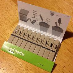 Genius packaging #matchbook