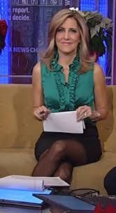 Camerota in pantyhose