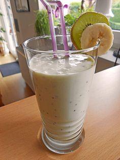Chefkoch.de Rezept: Kiwi-Bananen Smoothie