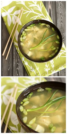 The best recipe!!! A quick, healthy and authentic Miso soup recipe that the whole family will love. Ready in only about 15-20 minutes.