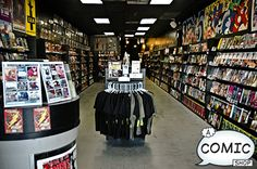 A Comic Shop, one of the best comic shops I've ever visited