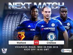 Yokohama Chelsea FC partnership. Announcing the next match Watford vs Chelsea