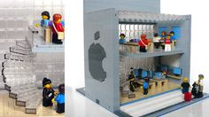 cool ! APPLE STORE made by LEGO