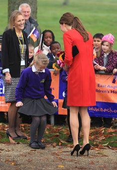 La más dulce reverencia a la Duquesa de Cambridge