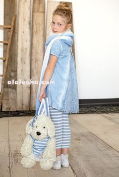 ALALOSHA: VOGUE ENFANTS: MISS GRANT SS'14 Girls Fashion