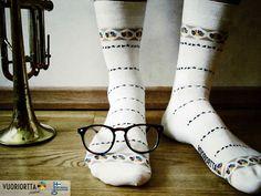 """Roxie"" bamboo socks. vuoriortta.fi/en"