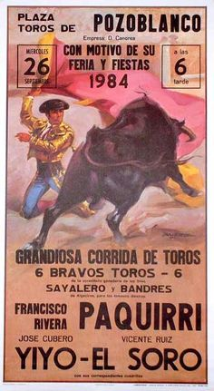 We sell posters with bullfighting and bullfighter drawings, perfect to decorate any party or event. San Fermin Pamplona, My Favorite Year, Gustave Dore, Cool Suits, Vintage Posters, Retro, Nostalgia, Poster Prints, Cowgirls