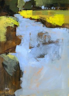 Paul Bailey,  Slow river semi-abstract