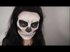 Lady Gaga 'Born This Way' Music Video / Rick Genest Inspired Makeup Tutorial... Im thinking halloween!!!