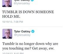 Inspiring image tyler oakley, tweets, funny, tumblr, gay, hold me #1273563 by awesomeguy - Resolution 500x500px - Find the image to your taste