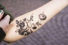 Image result for floral tattoos
