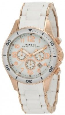 Relógio Marc Jacobs Quartz Rock White Dial Women's Watch MBM2547 #relogio #MarcJacobs