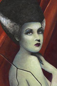 Bride of Frankenstien Bookmark