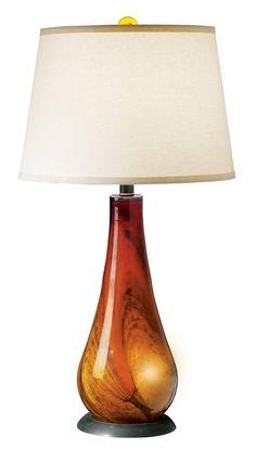Amazon.com: The Vulkan Table Lamp in Amber Bronze: Lamps & Light Fixtures